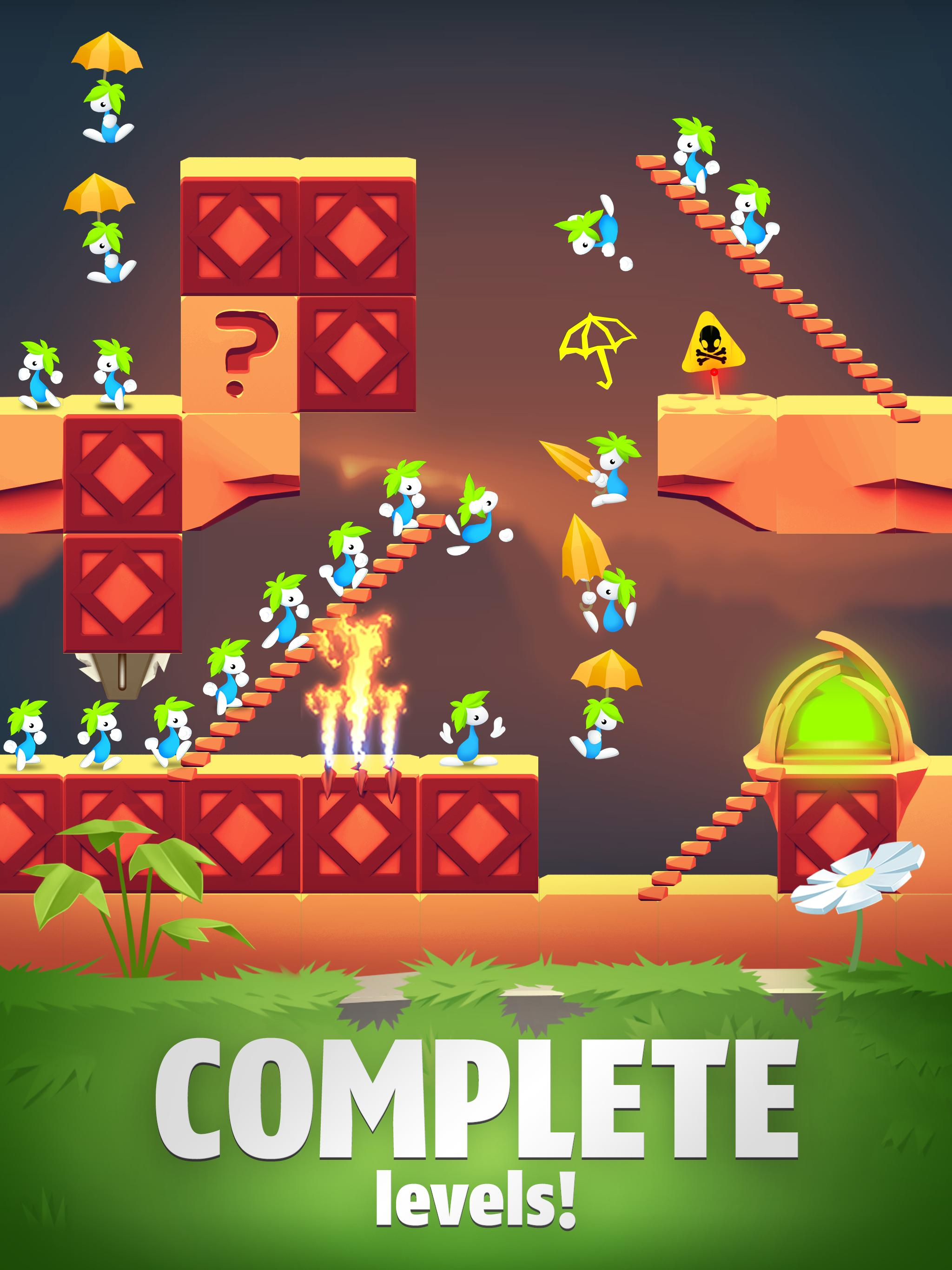 Lemmings Puzzle Adventure 4.90 Screenshot 6