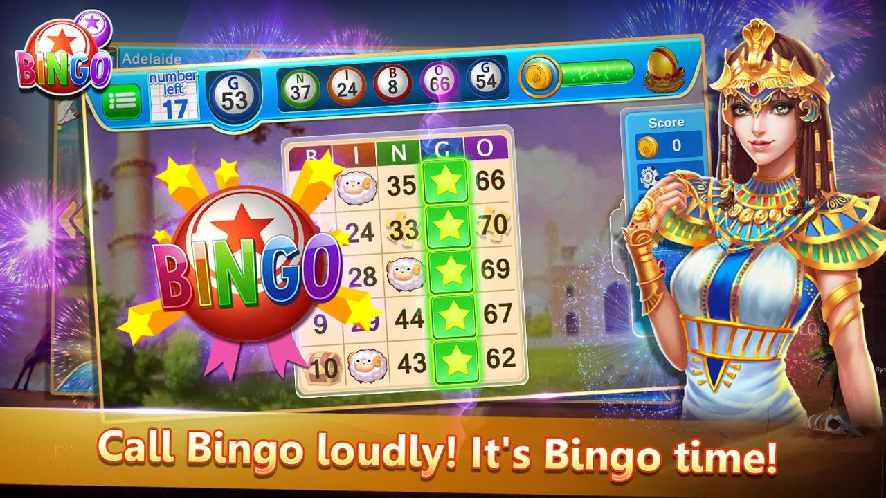 Bingo Cute Free Bingo Games, Offline Bingo Games 1.09 Screenshot 1