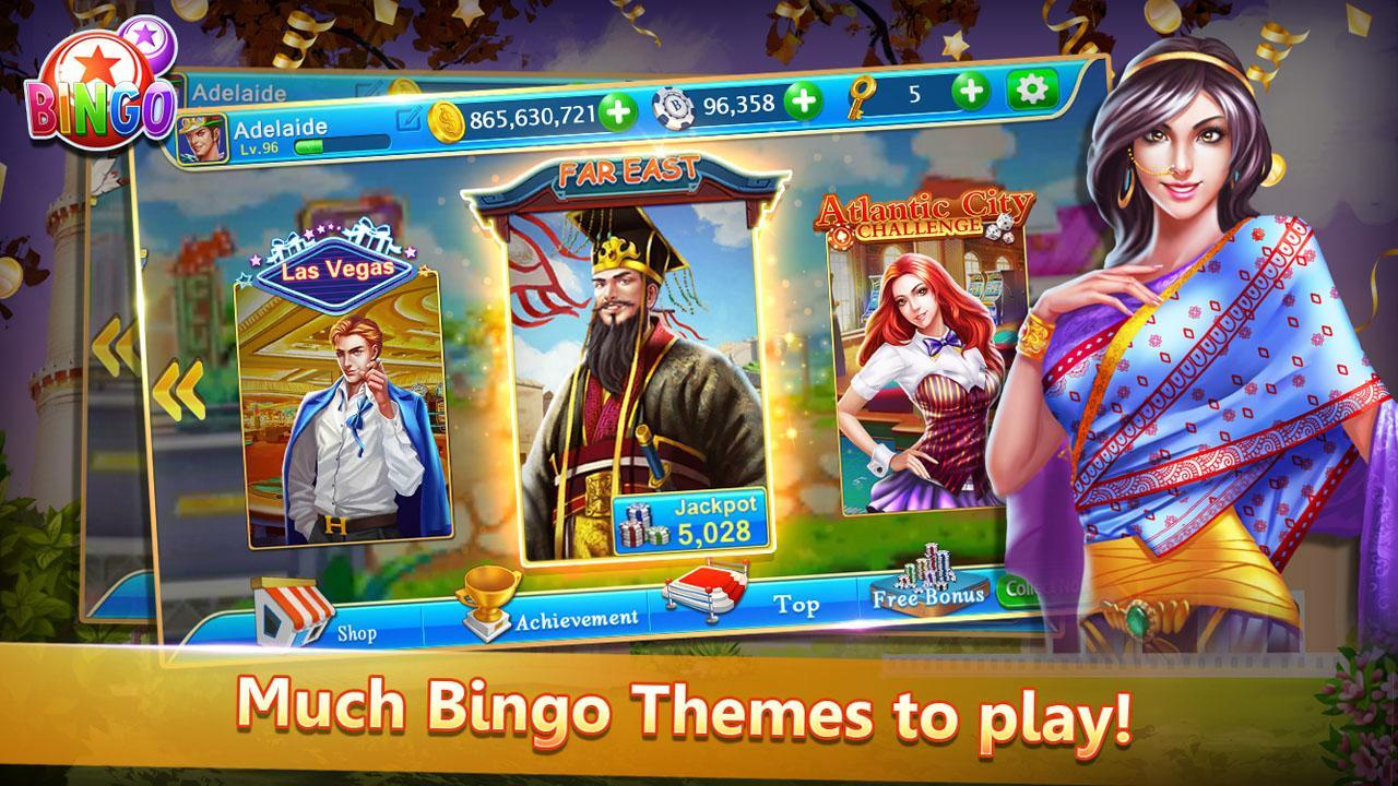 Bingo Cute Free Bingo Games, Offline Bingo Games 1.09 Screenshot 13