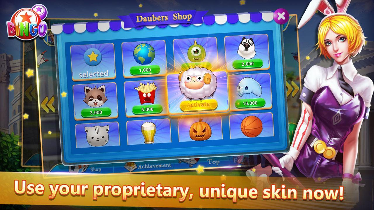 Bingo Cute Free Bingo Games, Offline Bingo Games 1.09 Screenshot 4
