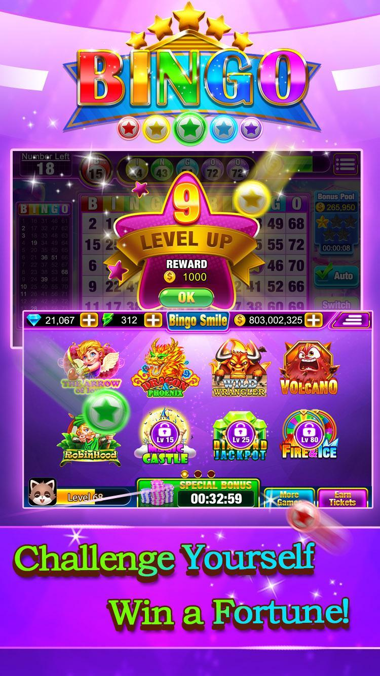 Bingo Smile Free Bingo Games 1.5 Screenshot 1