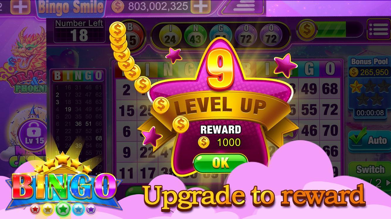 Bingo Smile Free Bingo Games 1.5 Screenshot 4