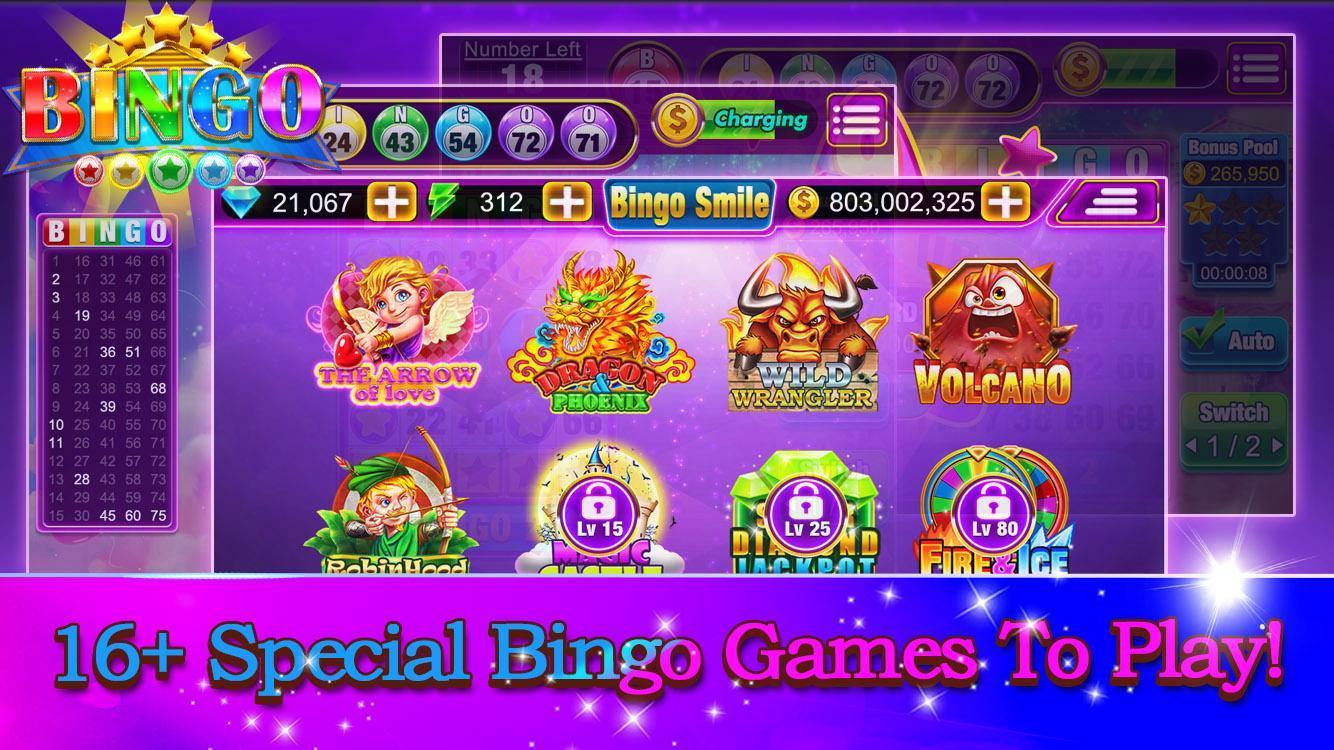 Bingo Smile Free Bingo Games 1.5 Screenshot 8