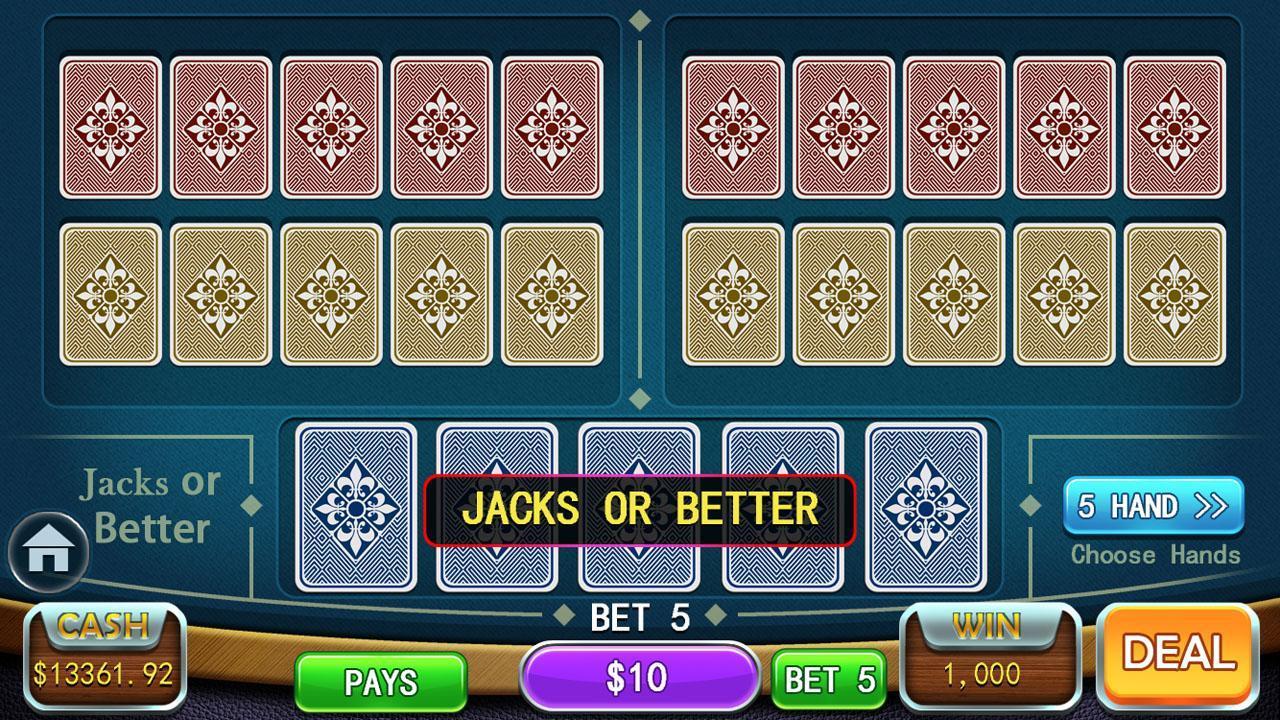 Video Poker Games - Multi Hand Video Poker Free 1.7 Screenshot 10