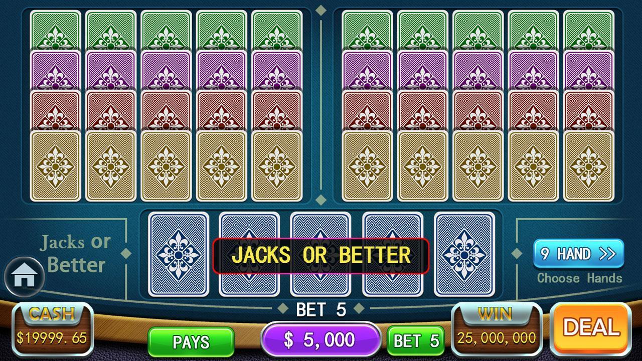 Video Poker Games - Multi Hand Video Poker Free 1.7 Screenshot 6