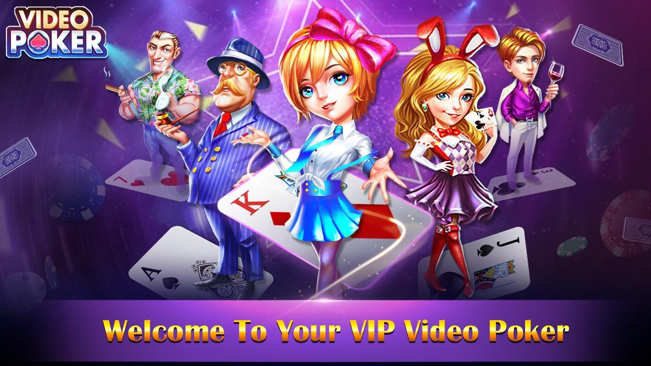 video poker - new casino card poker games free 1.23 Screenshot 1