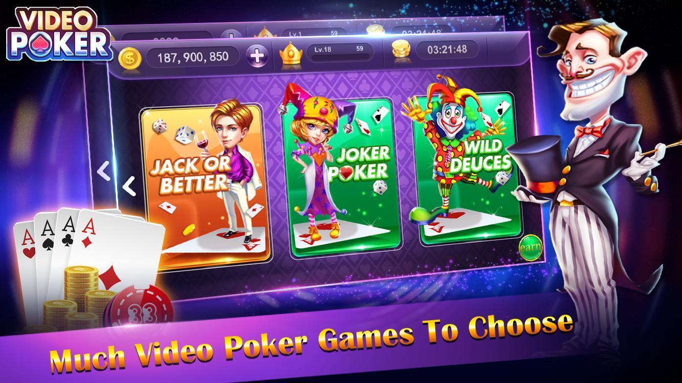 video poker - new casino card poker games free 1.23 Screenshot 2