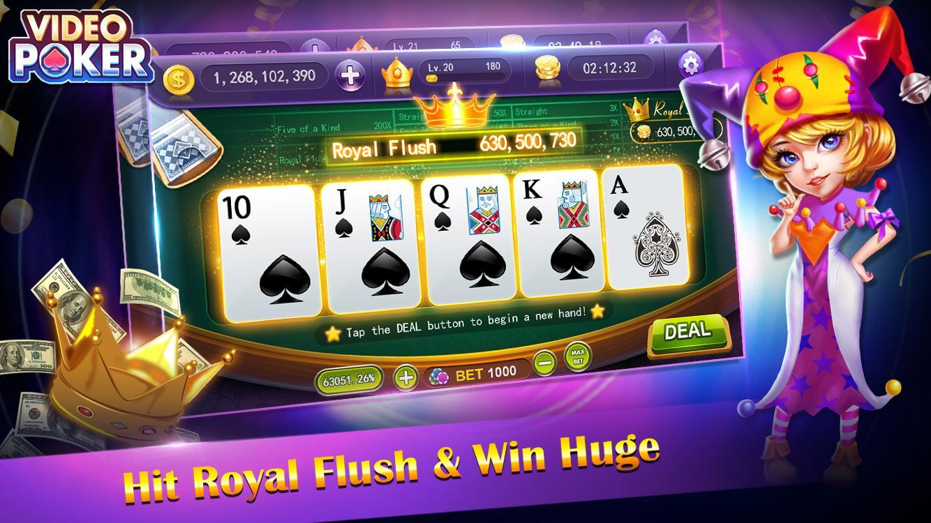video poker - new casino card poker games free 1.23 Screenshot 4