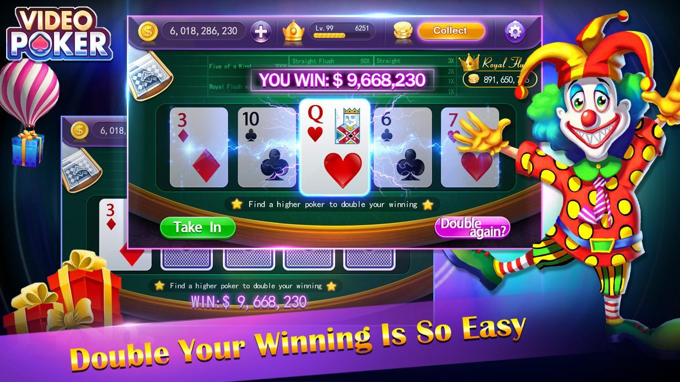 video poker - new casino card poker games free 1.23 Screenshot 5