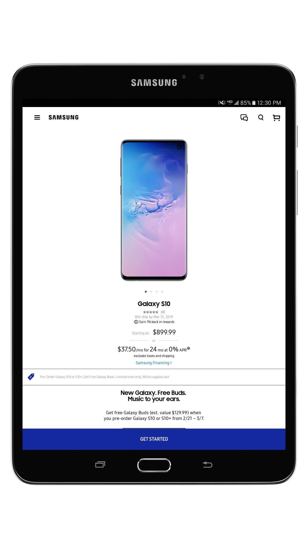 Shop Samsung 1.0.16229 Screenshot 12