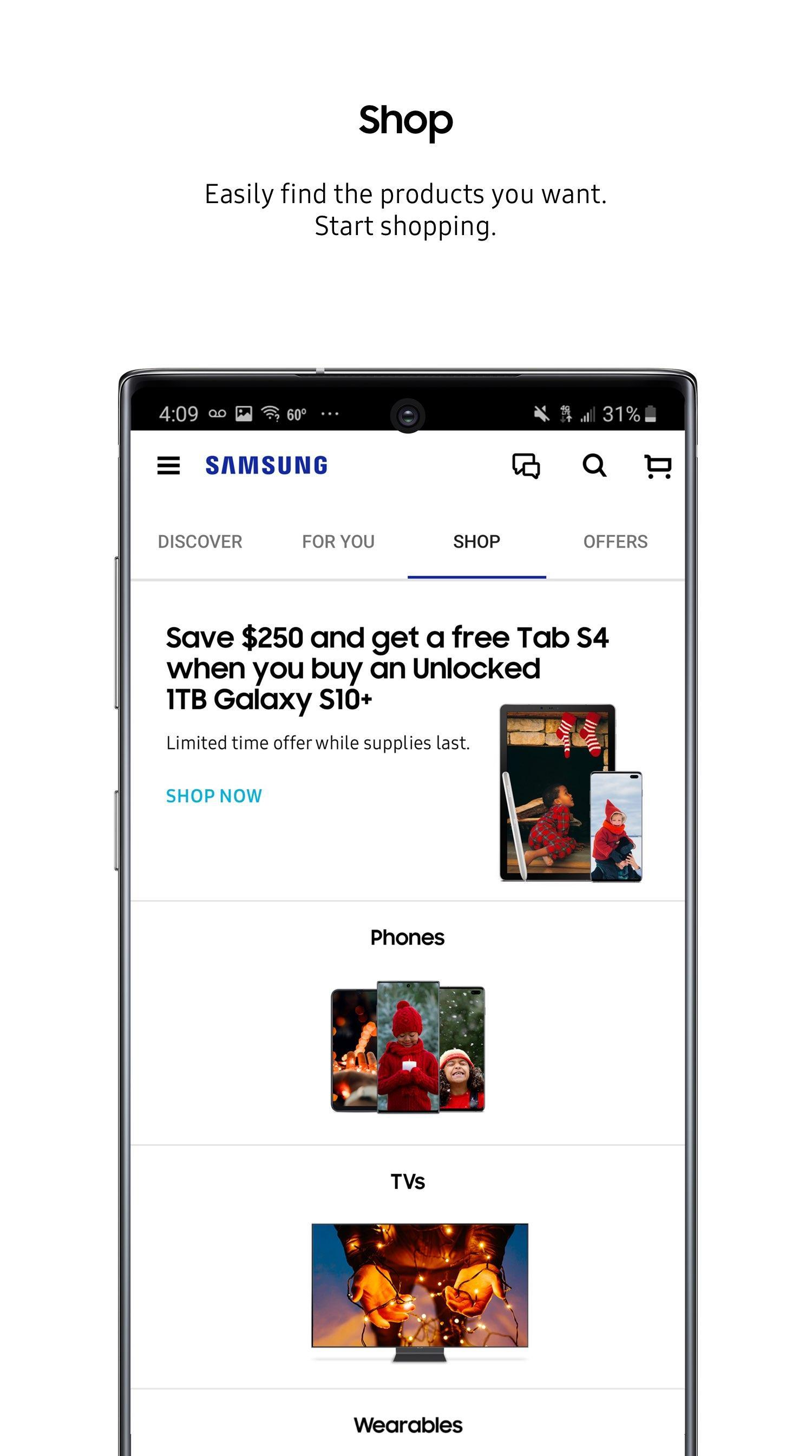 Shop Samsung 1.0.16229 Screenshot 3