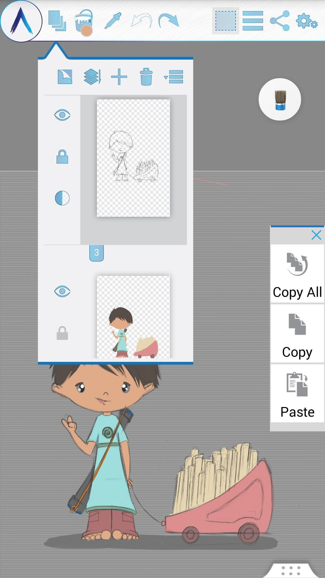 Artecture Draw, Sketch, Paint 5.2.0.4 Screenshot 2