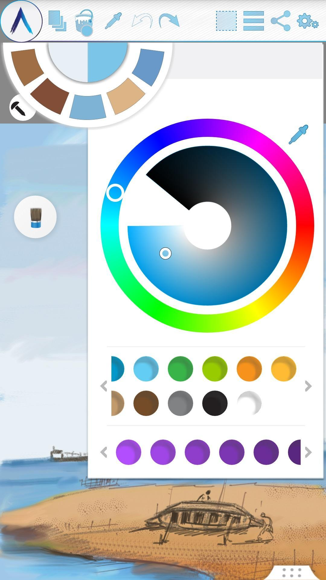 Artecture Draw, Sketch, Paint 5.2.0.4 Screenshot 3
