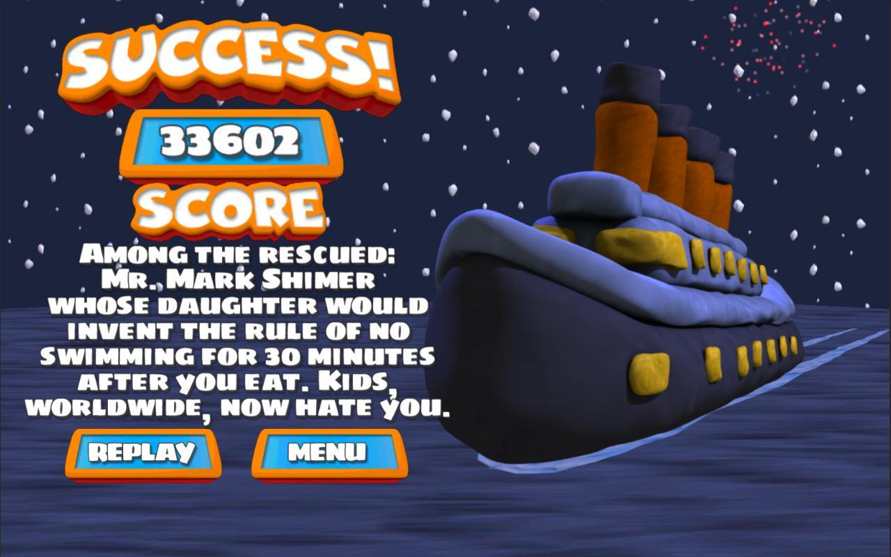 Save The Titanic 3.0.2 Screenshot 3