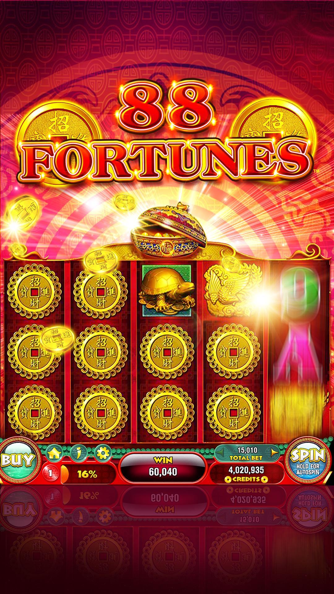 88 Fortunes Casino Games & Free Slot Machines 3.2.38 Screenshot 1