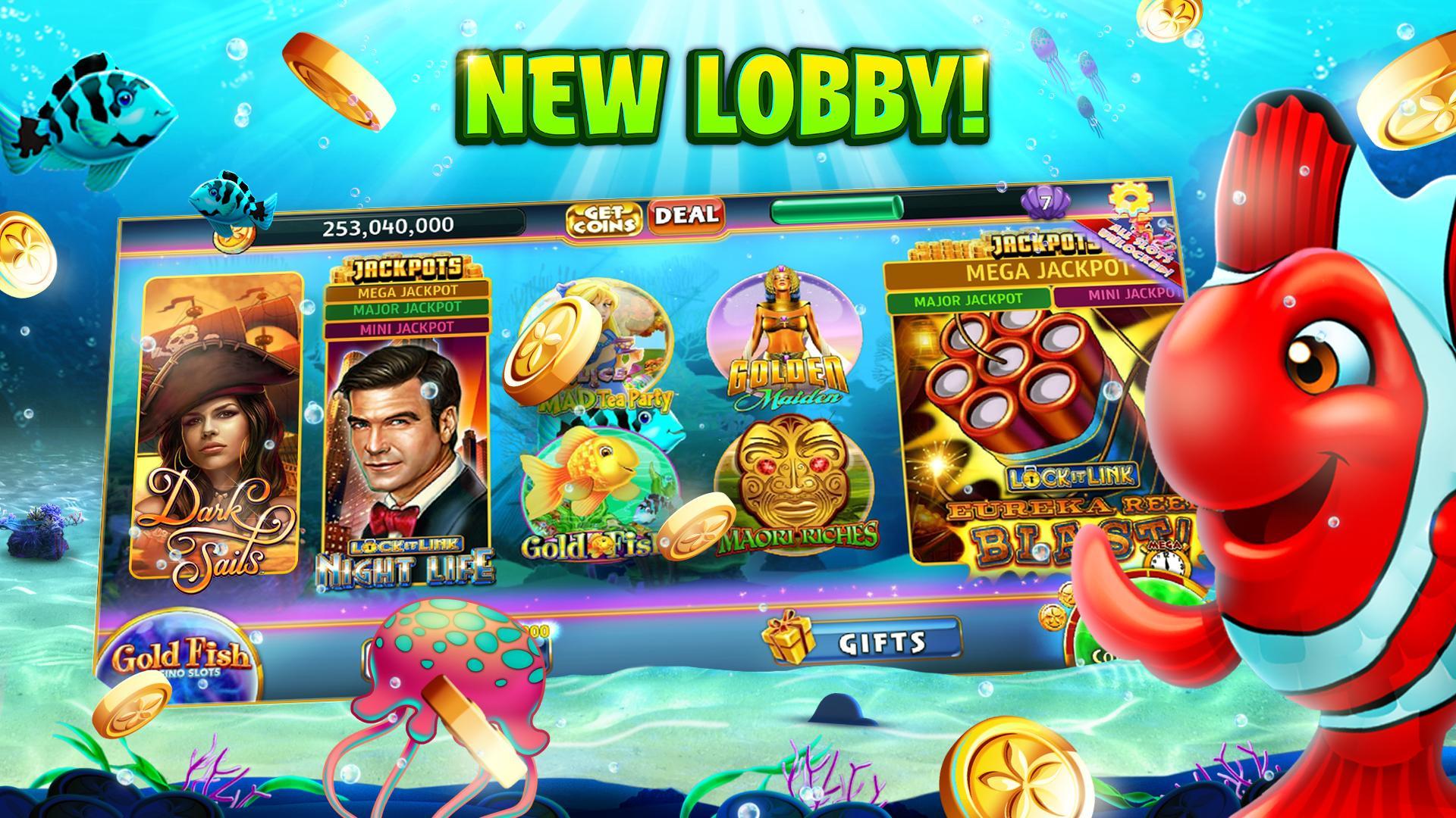 Gold Fish Casino Slots - FREE Slot Machine Games 25.09.00 Screenshot 2