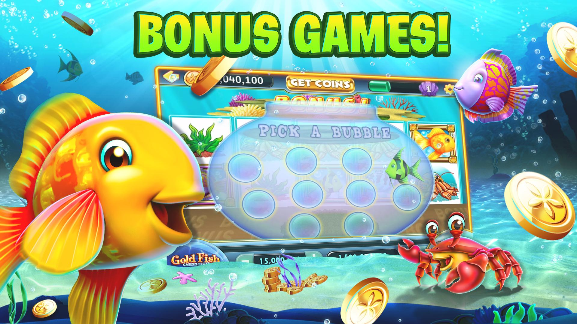 Gold Fish Casino Slots - FREE Slot Machine Games 25.09.00 Screenshot 5