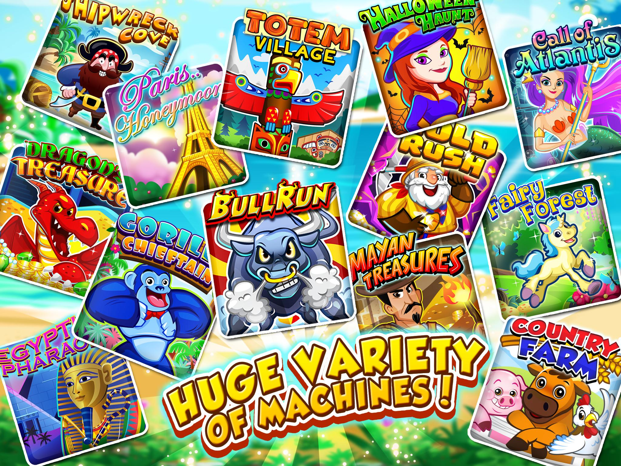 Slots Vacation FREE Slots 29 Screenshot 1
