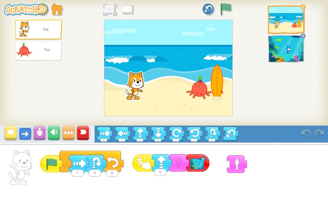 ScratchJr 1.2.5 Screenshot 1