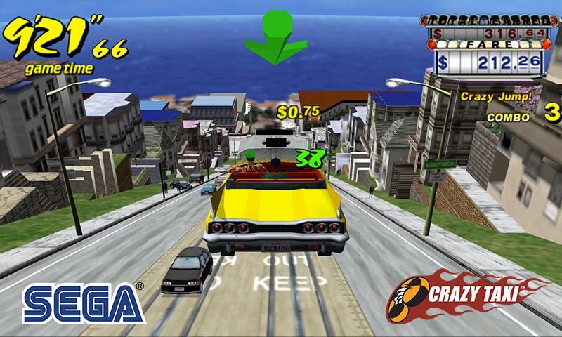 Crazy Taxi Classic 4.4 Screenshot 1