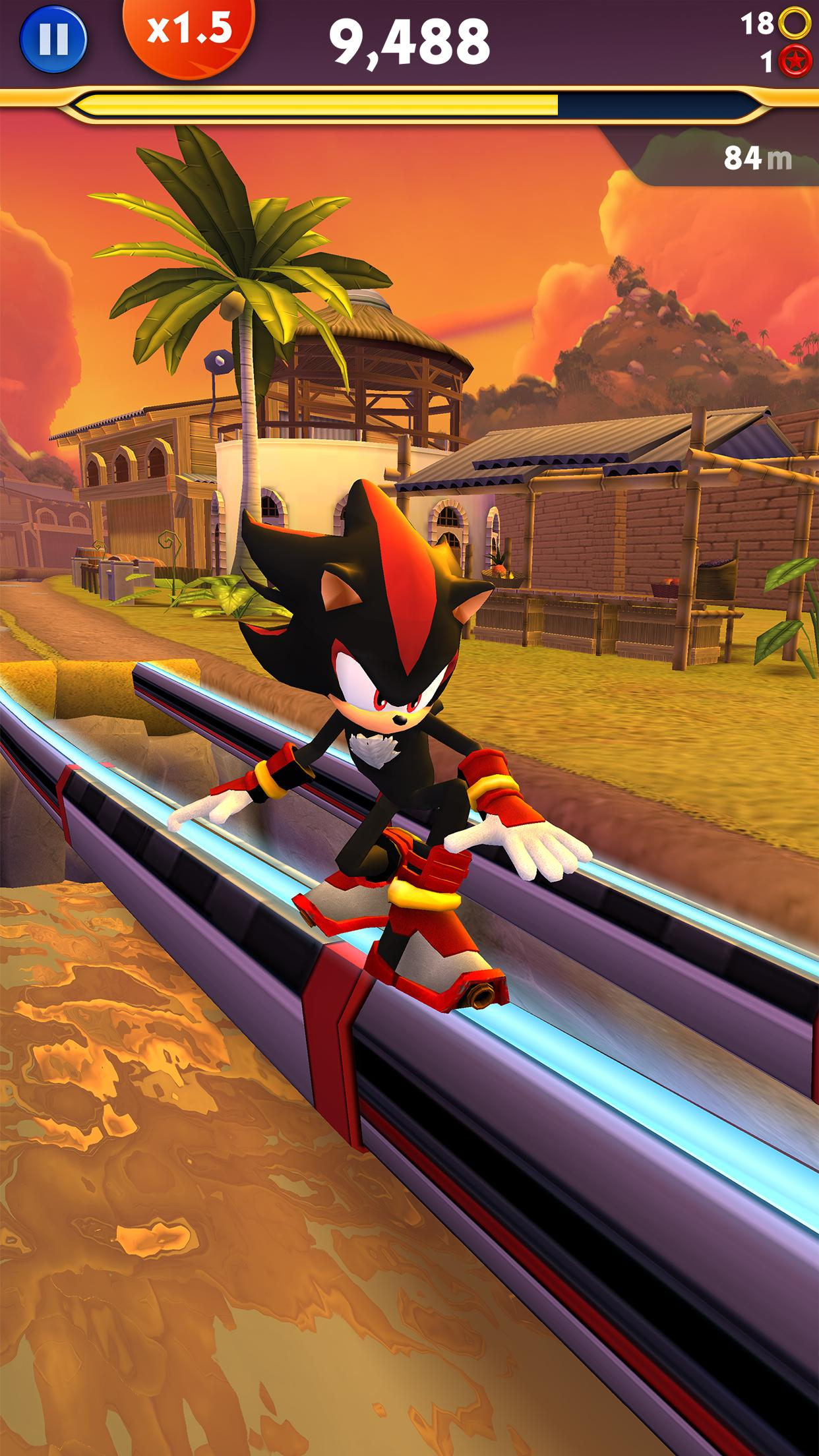 Sonic Dash 2: Sonic Boom 2.2.4 Screenshot 2