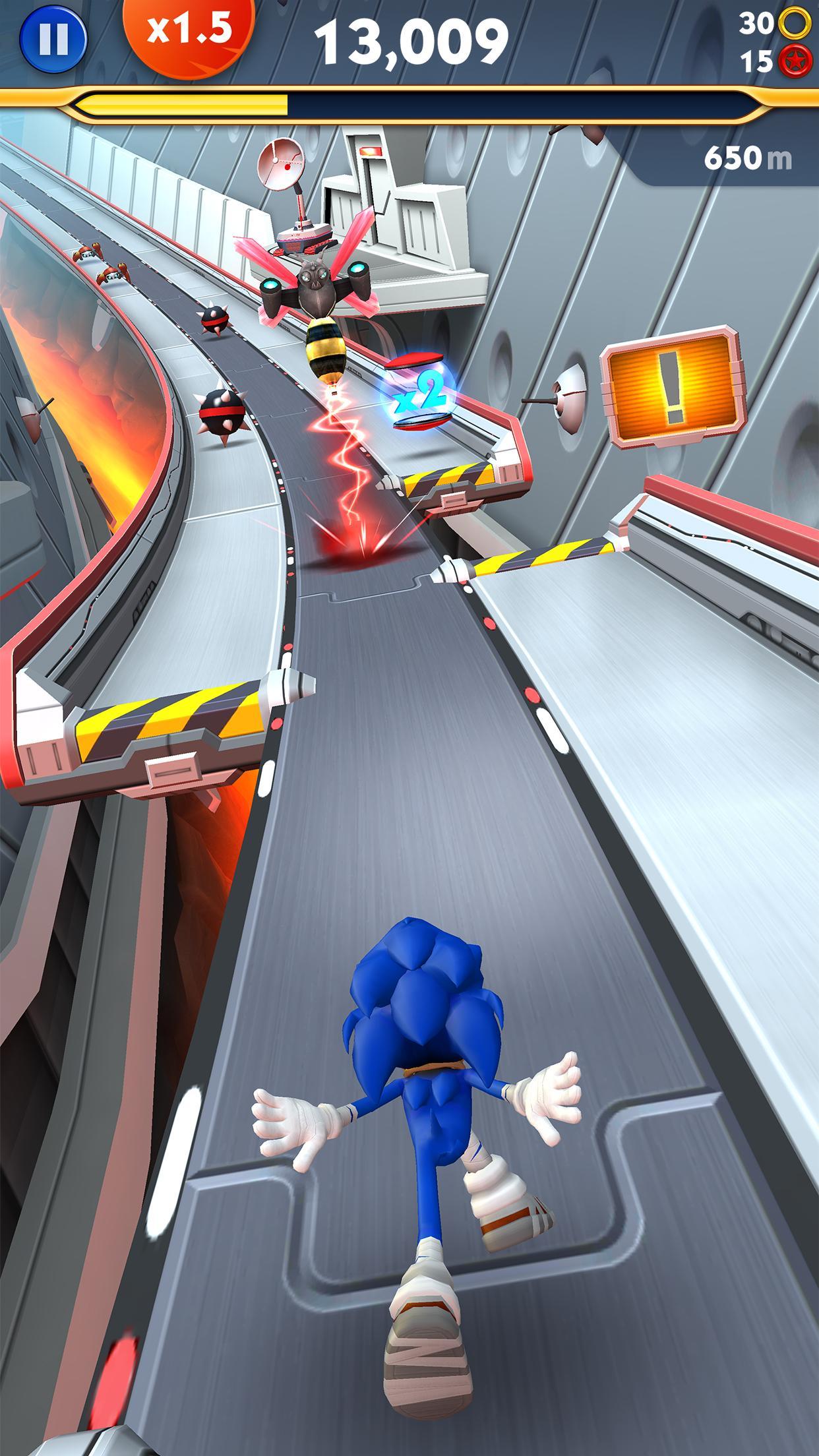 Sonic Dash 2: Sonic Boom 2.2.4 Screenshot 3