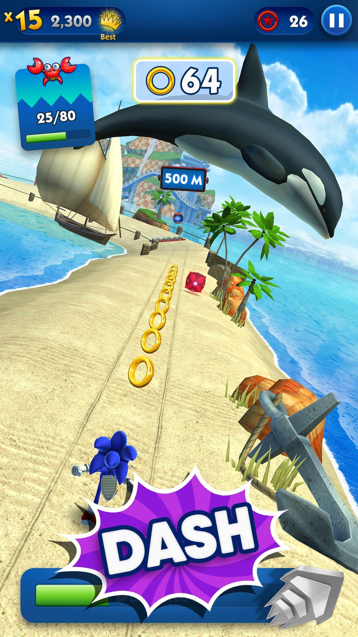 Sonic Dash - Endless Running & Racing Game 4.14.0 Screenshot 2
