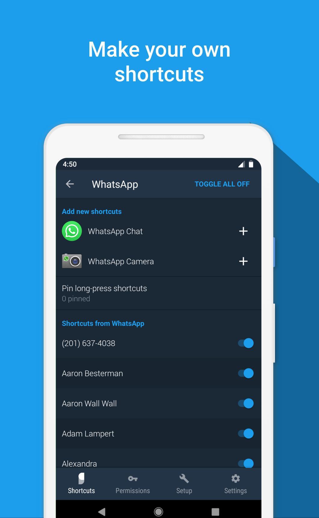 Sesame Universal Search and Shortcuts 3.6.1 Screenshot 7