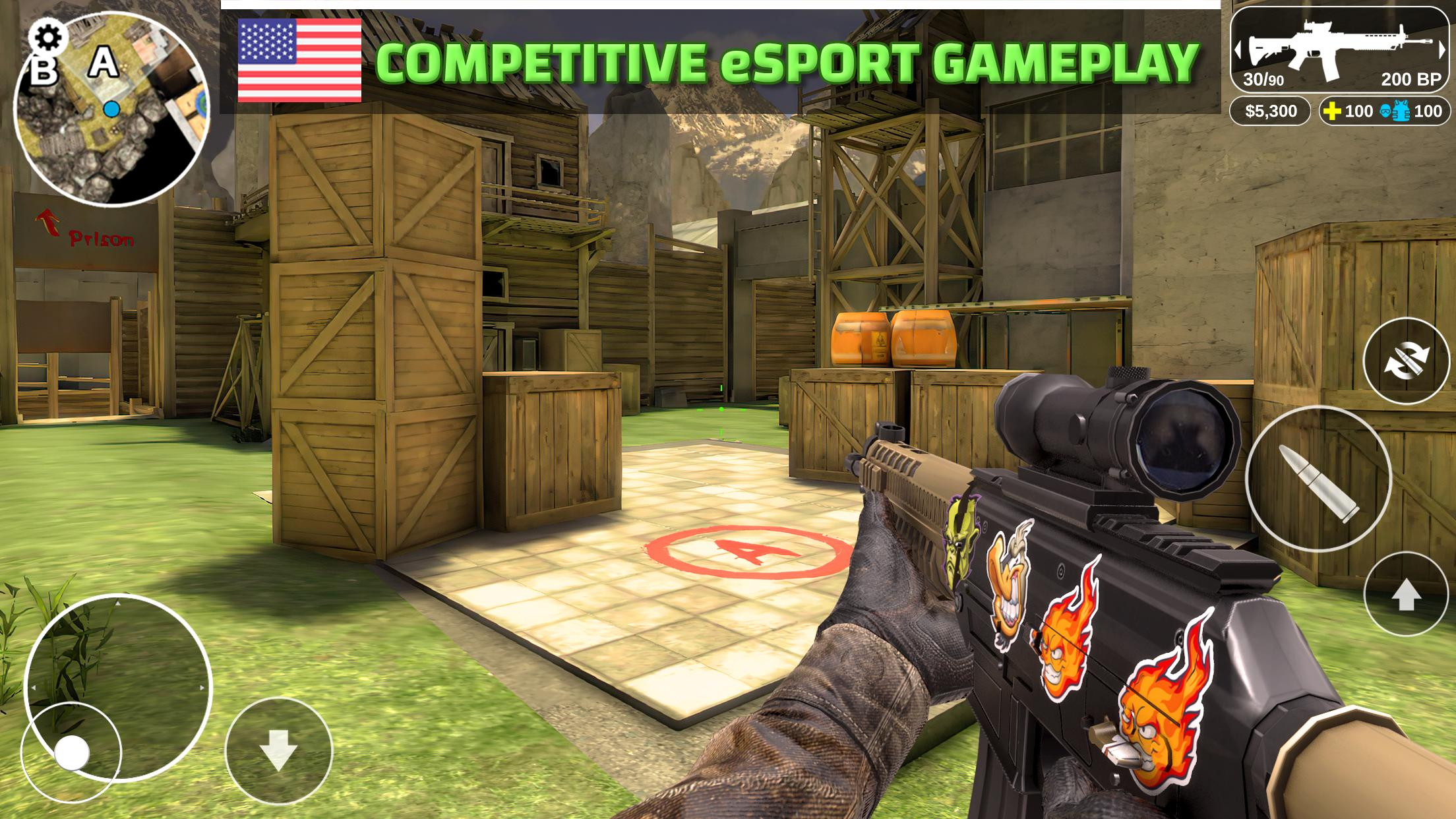 Counter Attack Multiplayer FPS 1.2.43 Screenshot 5