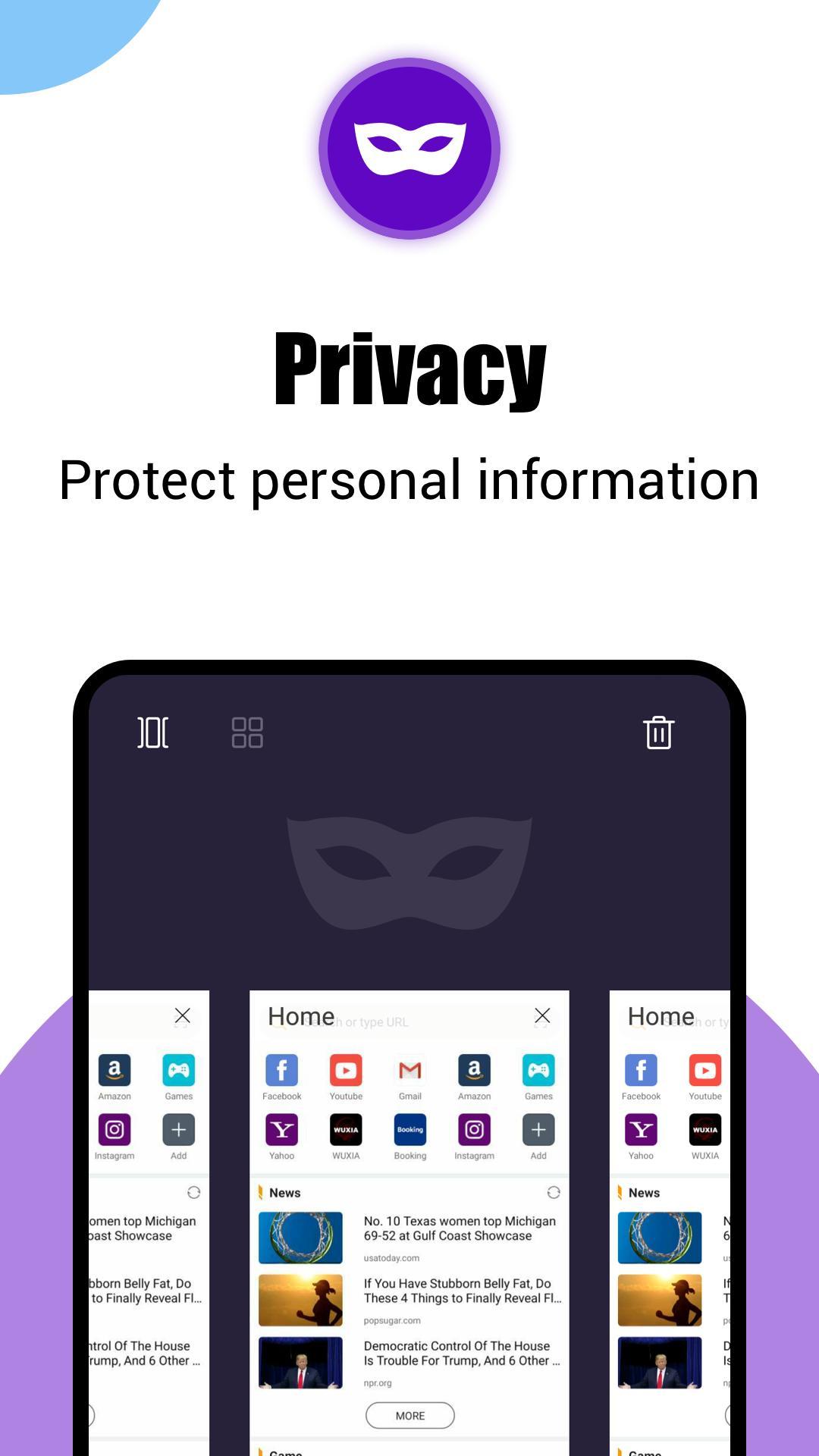 Phoenix Browser -Video Download, Private & Fast 4.0.1.2165 Screenshot 6