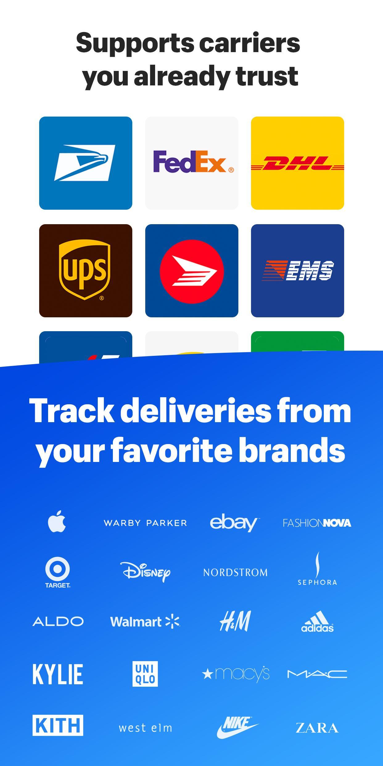 Arrive Package Tracker 1.6.0 Screenshot 6