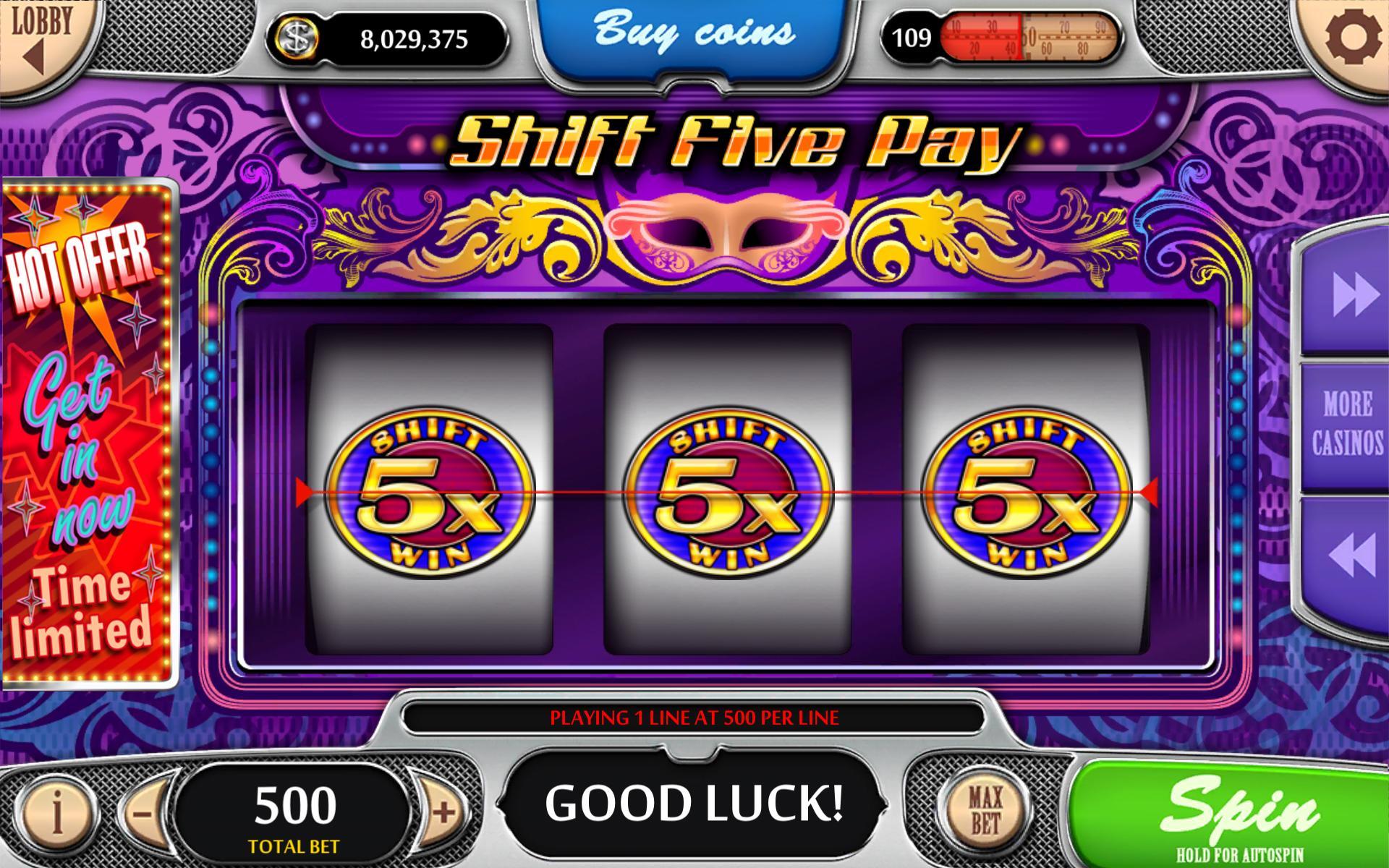 Vegas Power Slots Free Real Vegas Slot Machines 1.47 Screenshot 1