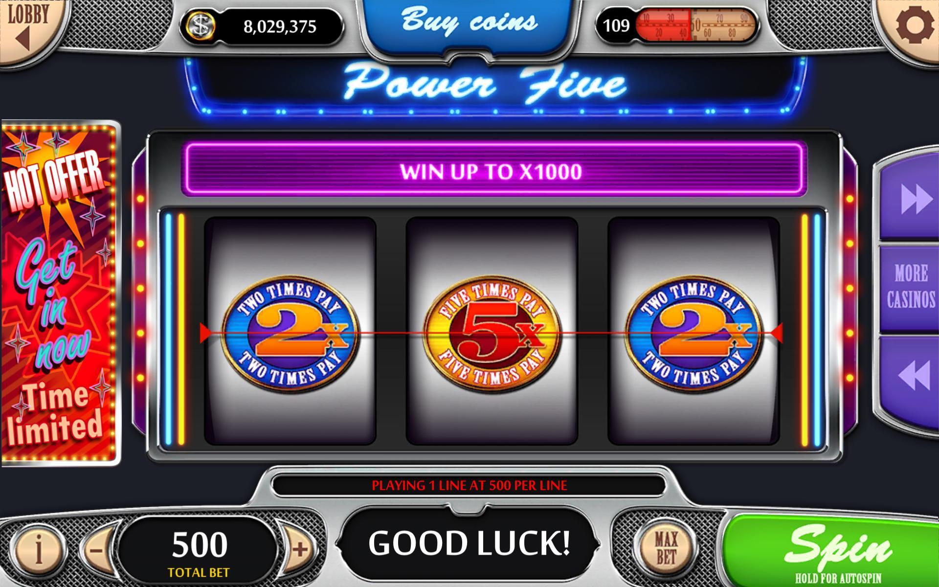 Vegas Power Slots Free Real Vegas Slot Machines 1.47 Screenshot 6