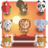 Animal connect game: PetsNet. Pet puzzle game free app icon