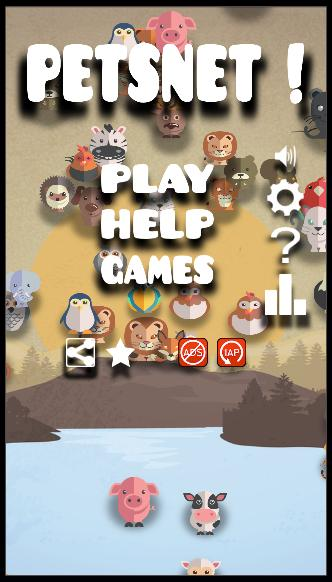 Animal connect game: PetsNet. Pet puzzle game free 1.27 Screenshot 1