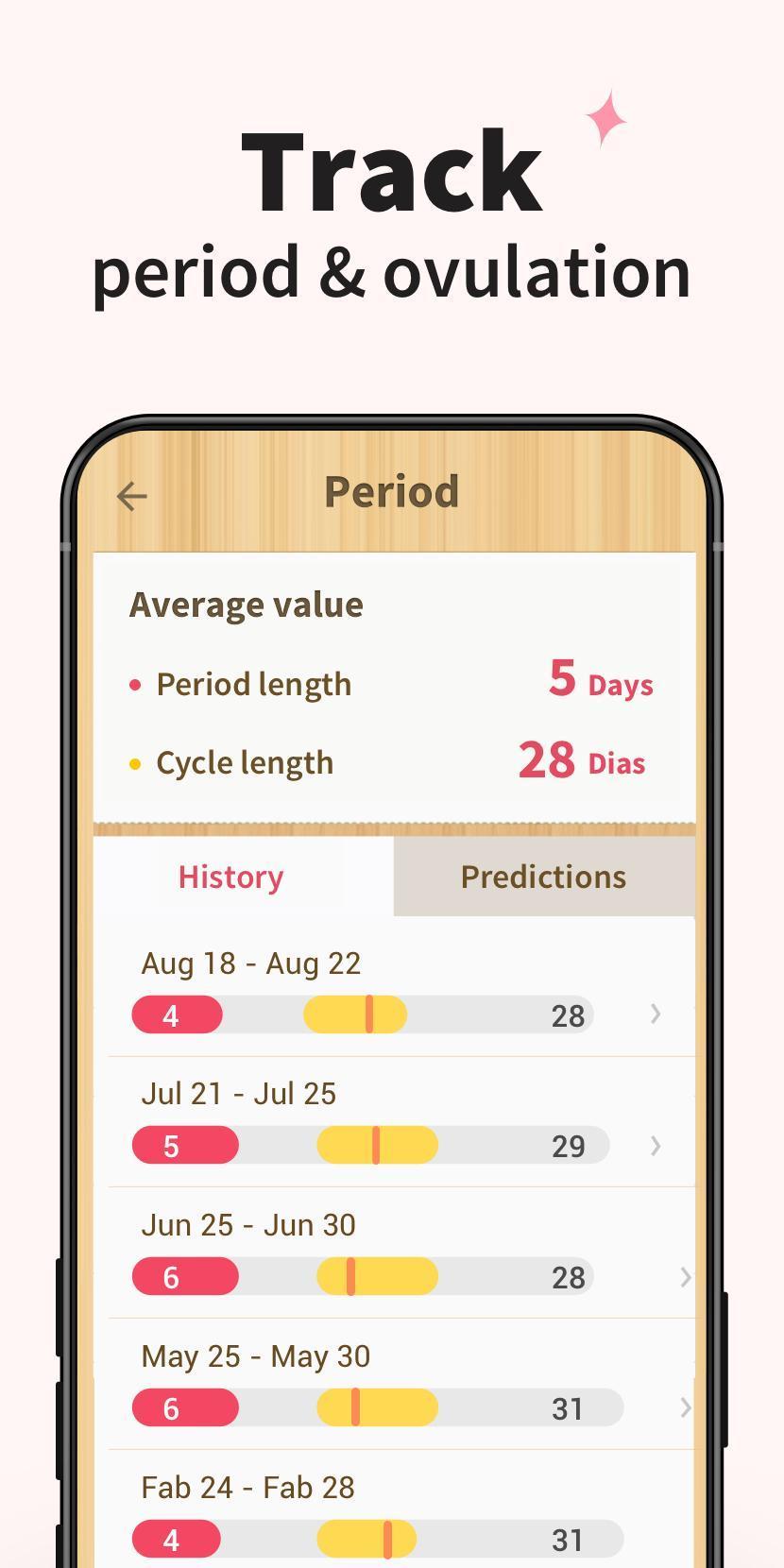 Period Tracker - Period Calendar Ovulation Tracker 1.716.221.GP Screenshot 6