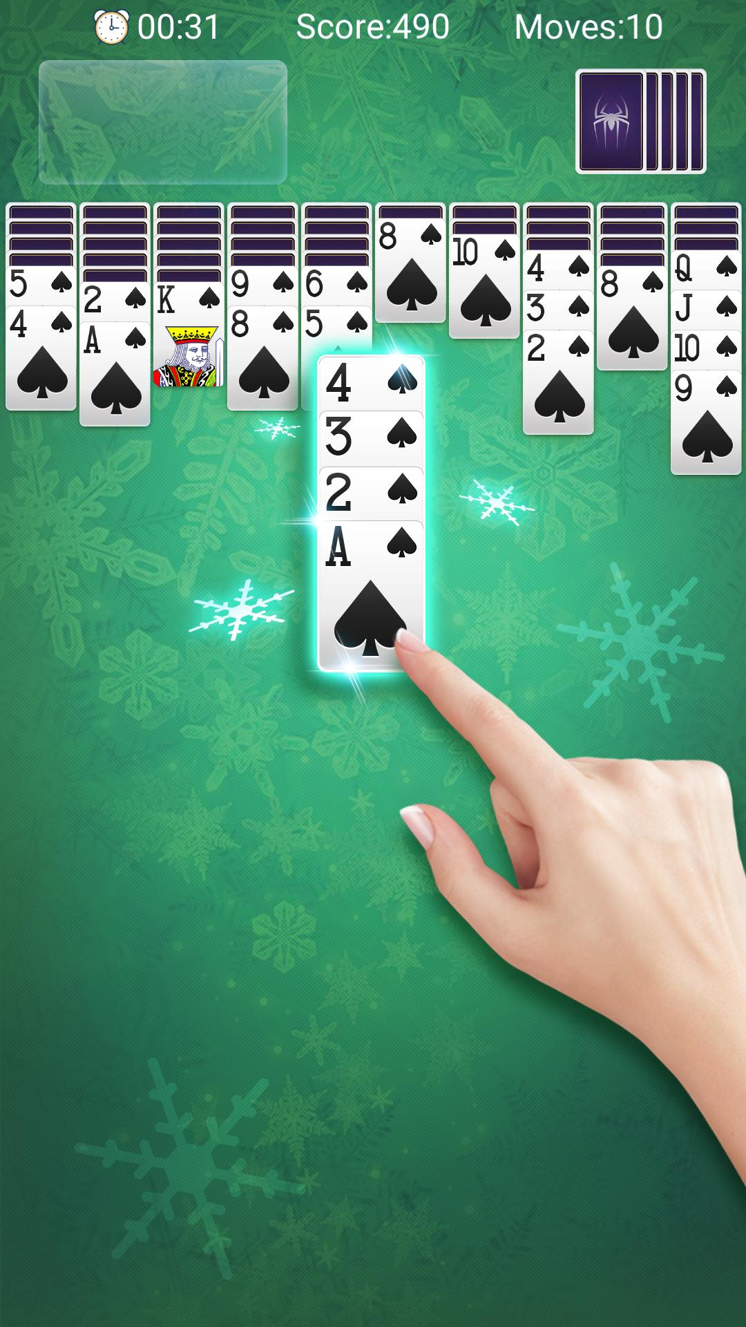 Classic Spider Solitaire-Free Solitaire Card Games 1.8.1 Screenshot 1