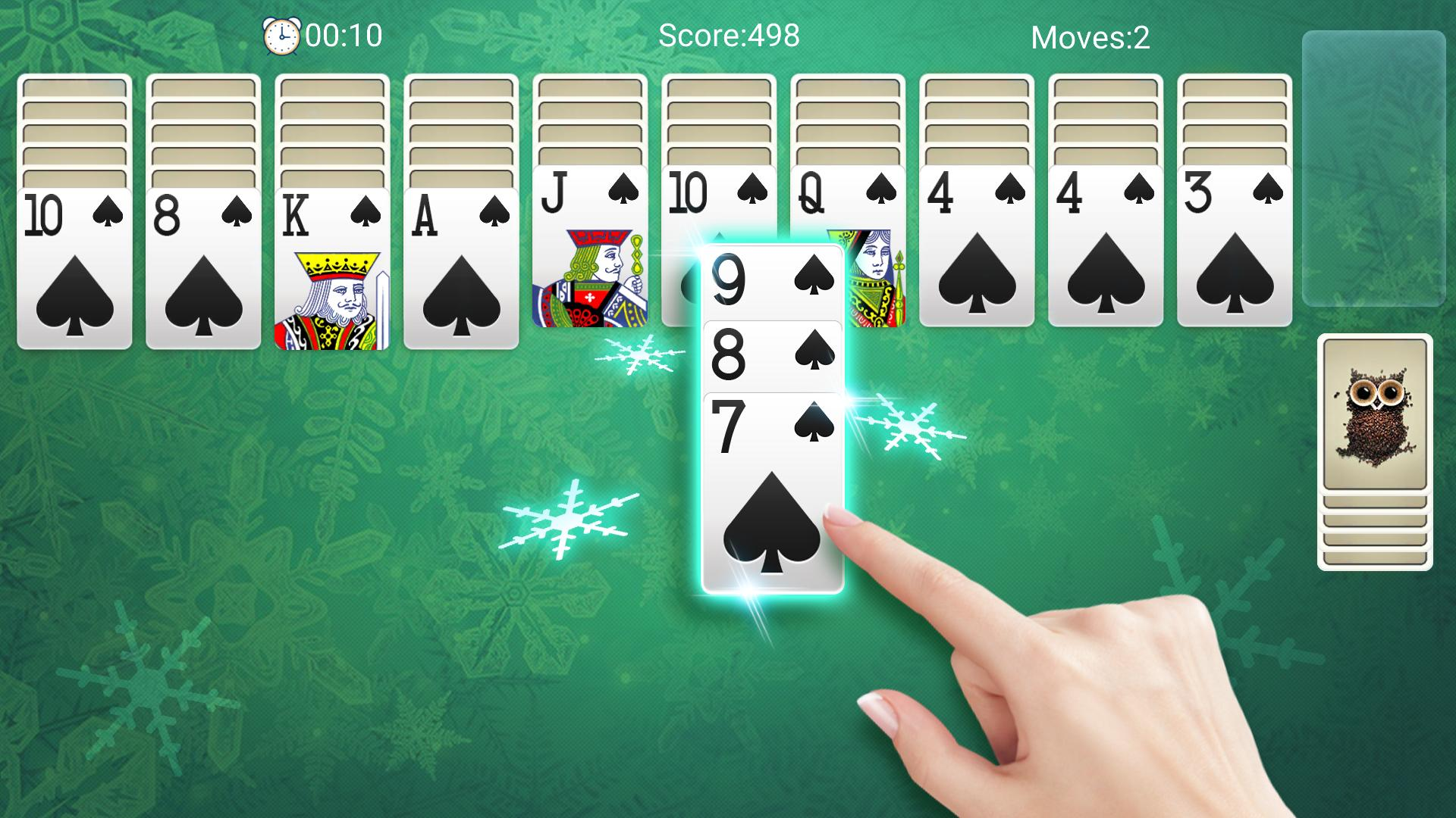 Classic Spider Solitaire-Free Solitaire Card Games 1.8.1 Screenshot 5