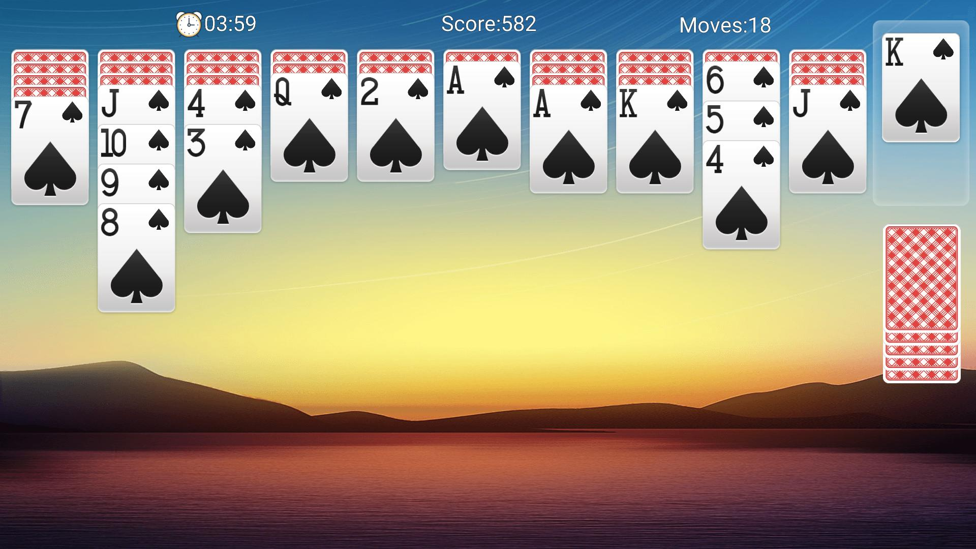 Classic Spider Solitaire-Free Solitaire Card Games 1.8.1 Screenshot 6