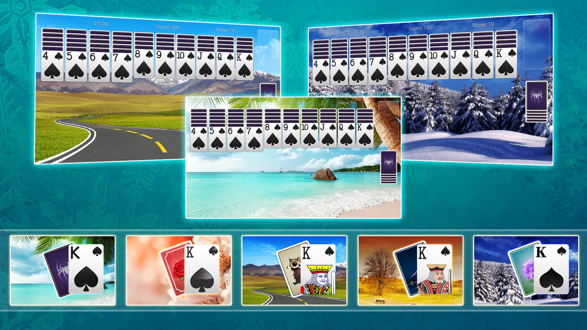 Classic Spider Solitaire-Free Solitaire Card Games 1.8.1 Screenshot 8