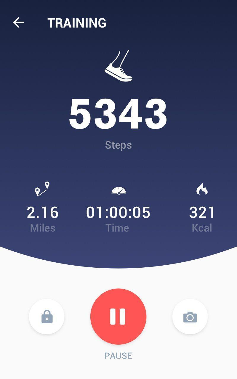 Pedometer -  Step Counter Free & Calorie Burner 2.0.0 Screenshot 15