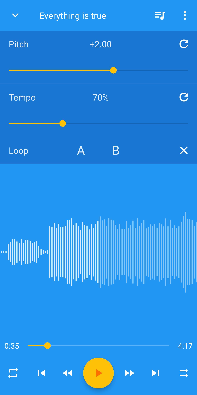 Music Speed Changer 8.7.1 Screenshot 1