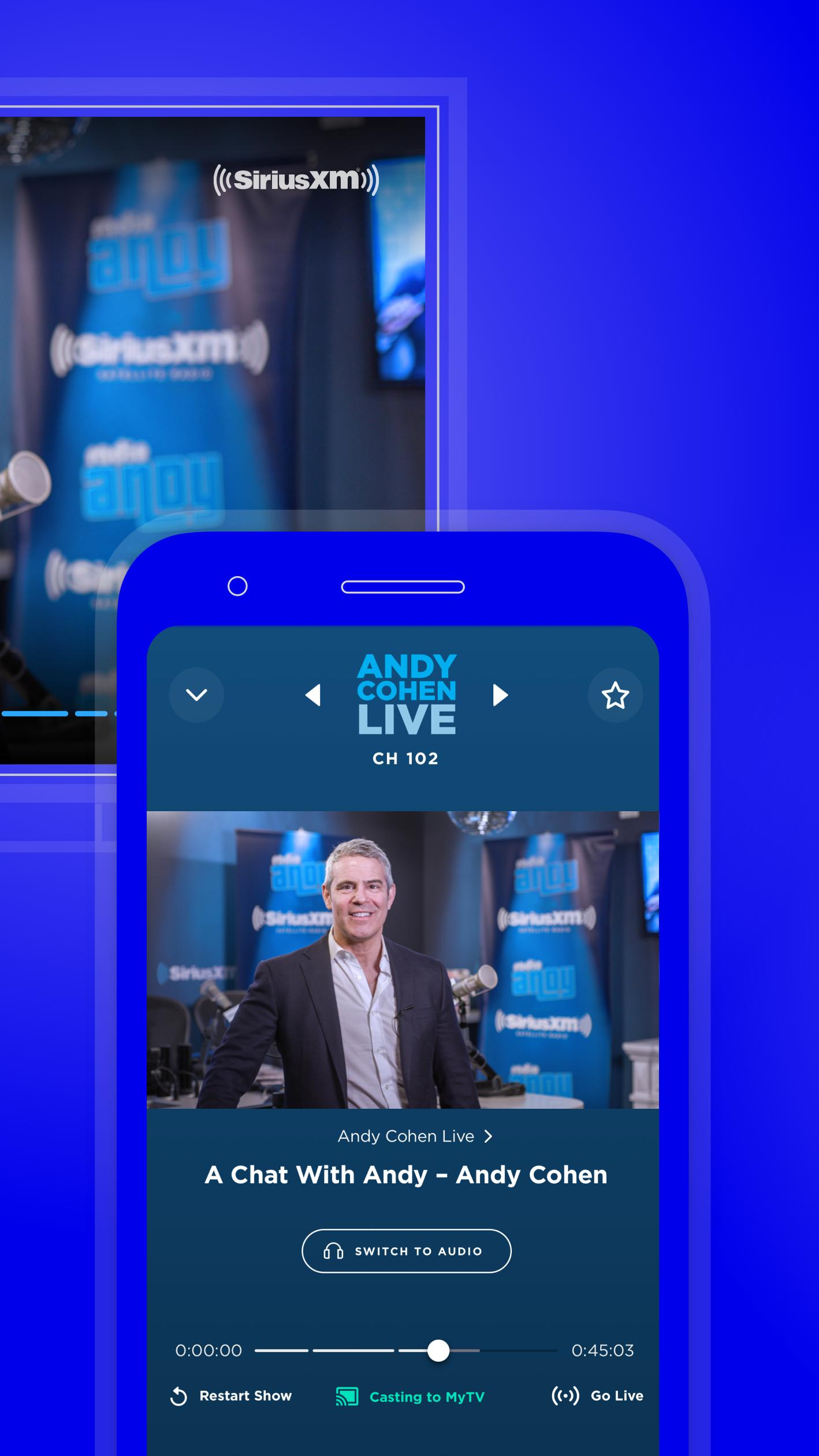 SiriusXM Music, Comedy, Sports, News 5.5.10 Screenshot 21
