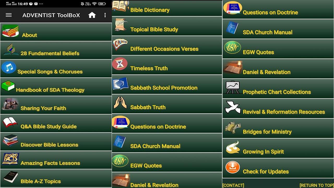 ADVENTIST ToolBoX 1.54 Screenshot 1