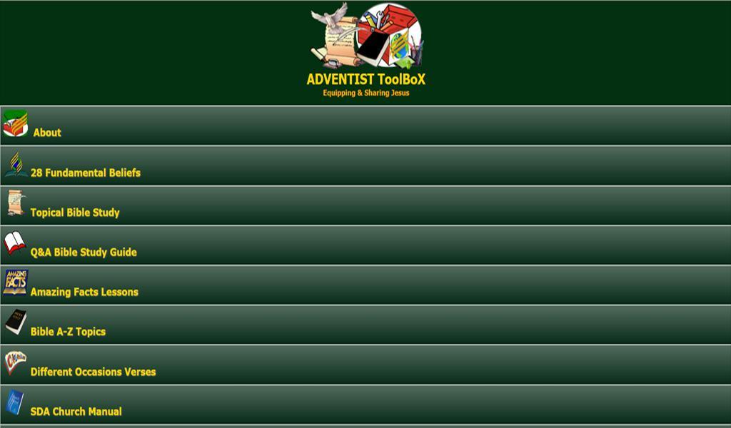 ADVENTIST ToolBoX 1.54 Screenshot 3