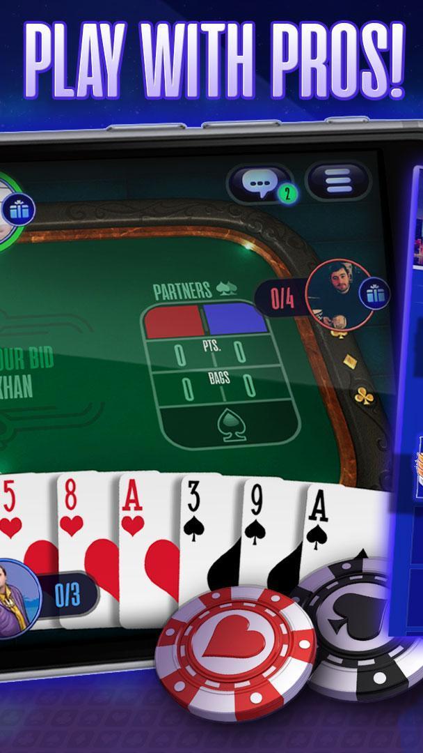 Spades online spades plus friends, play now! ♠️ 2.4.3 Screenshot 2