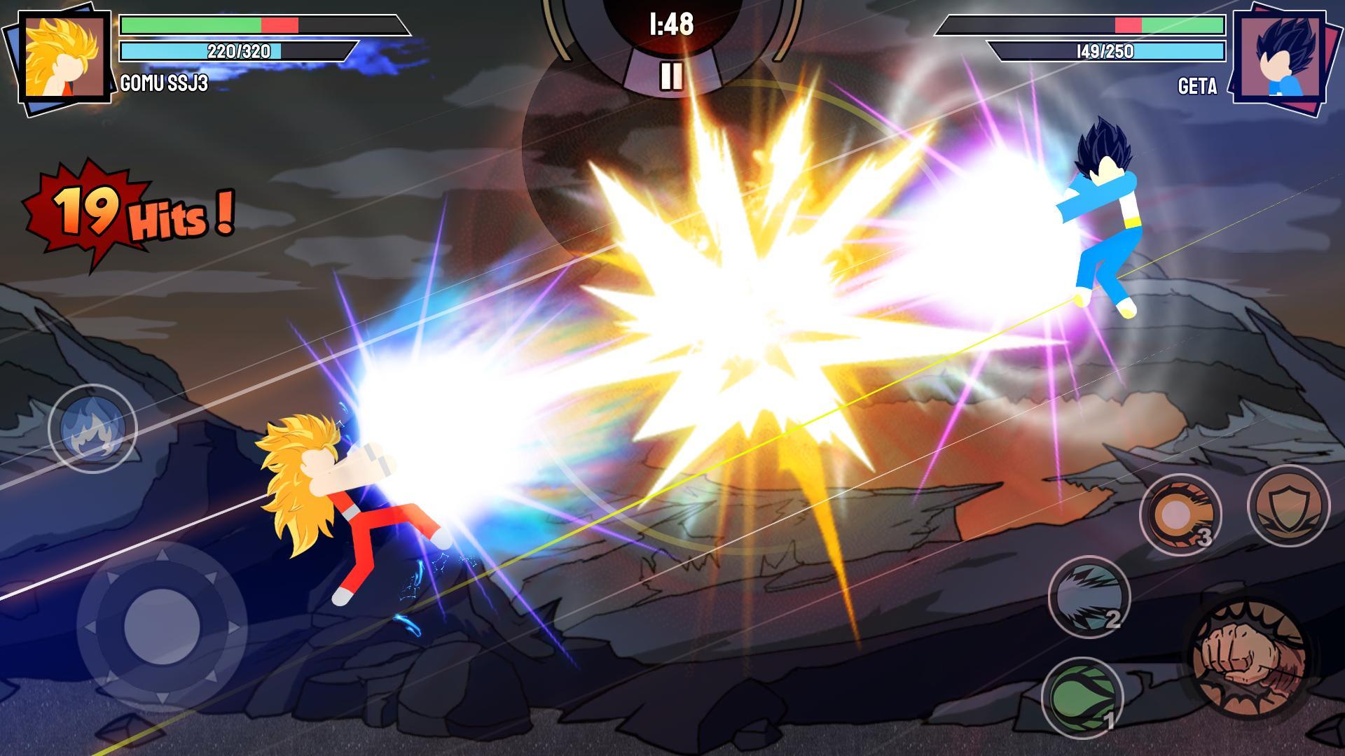 Stickman Warriors Super Dragon Shadow Fight 1.1.5 Screenshot 1