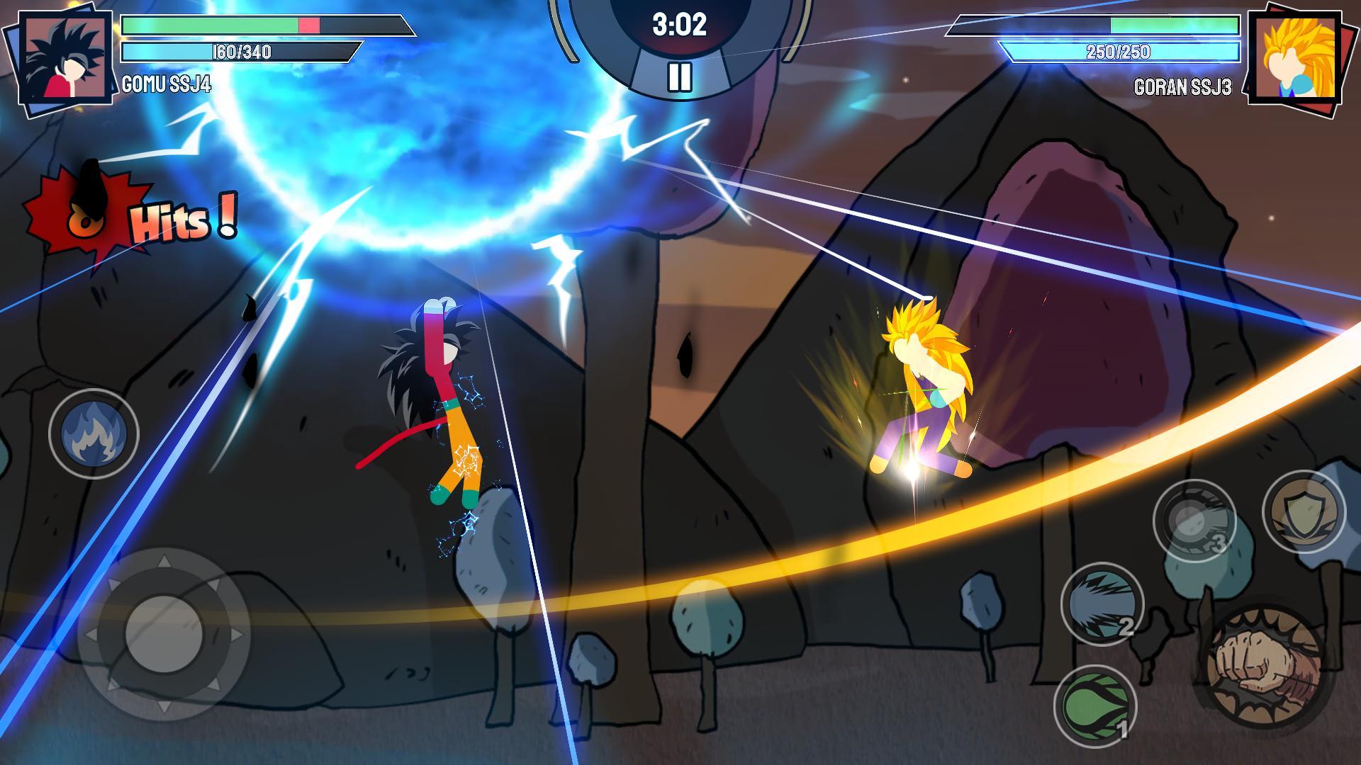 Stickman Warriors Super Dragon Shadow Fight 1.1.5 Screenshot 3