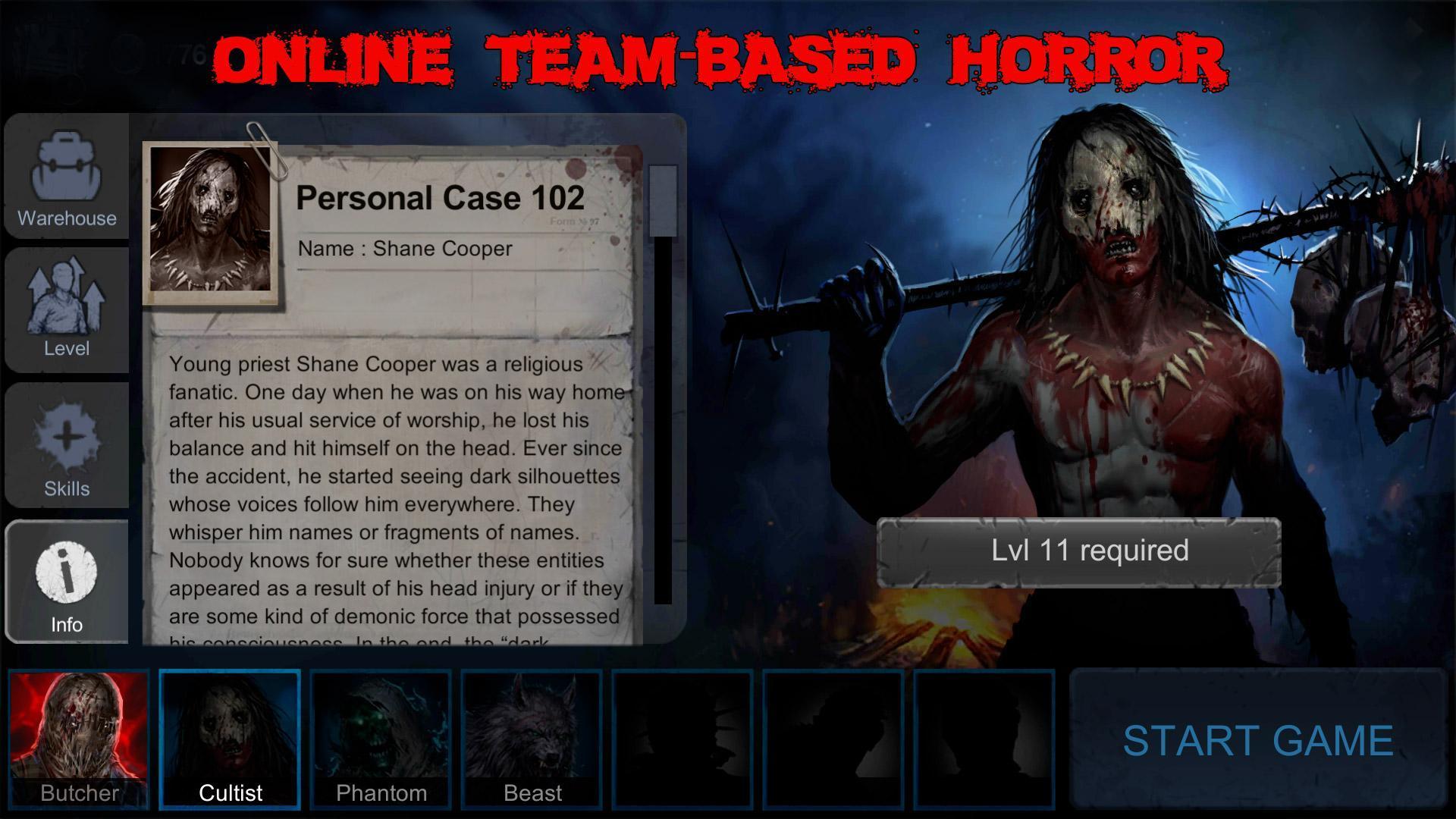 Horrorfield Multiplayer Survival Horror Game 1.3.6 Screenshot 1
