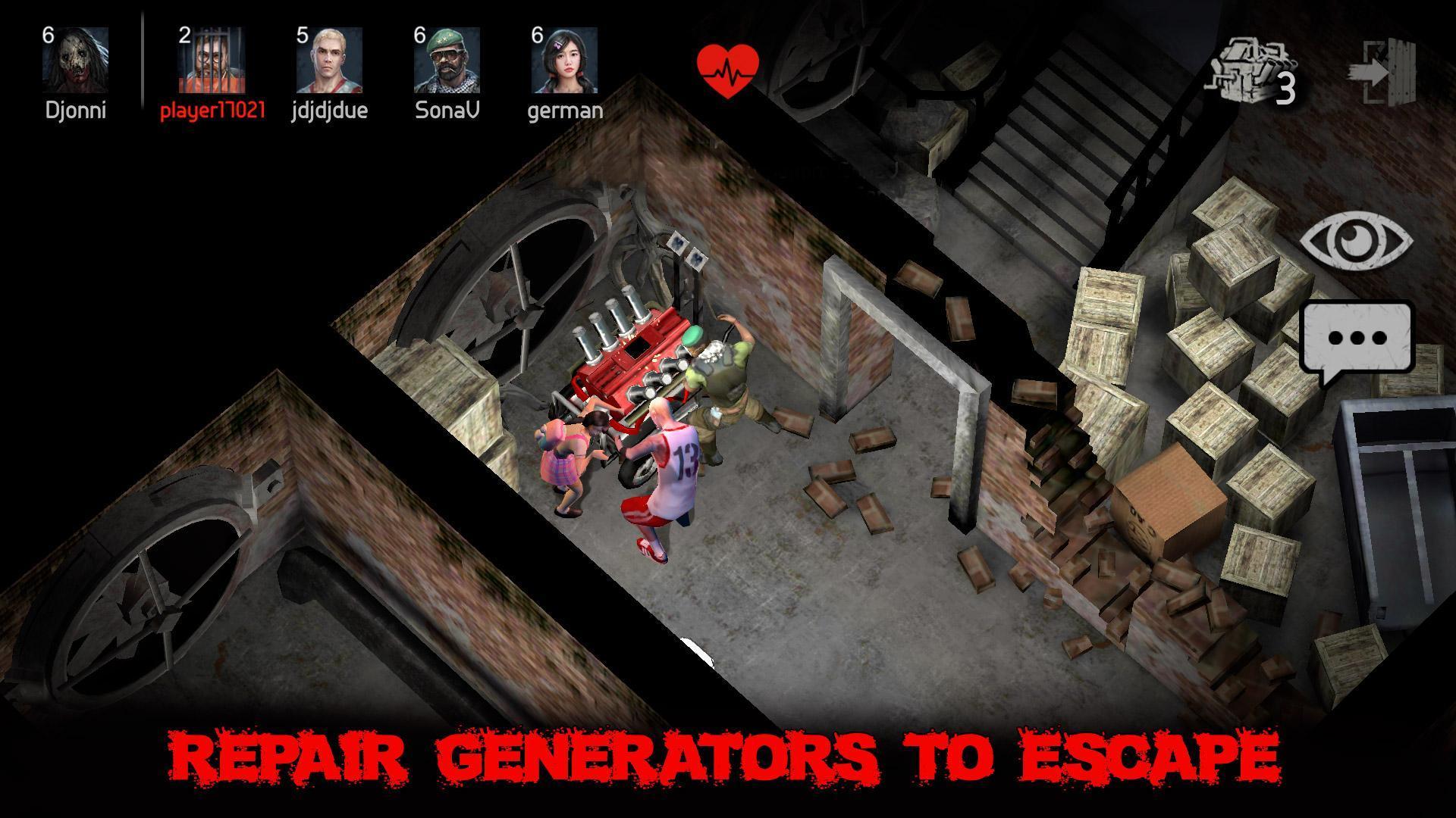 Horrorfield Multiplayer Survival Horror Game 1.3.6 Screenshot 3